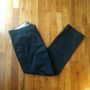 Men's Navy Blue Banana Republic Khaki Pants